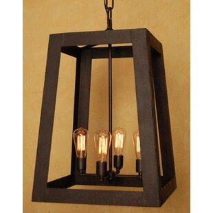 Laura Lee Designs Robertson 4-Light Outdoor Pendant