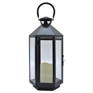 Compare & Buy Metal Lantern By Charlton Home