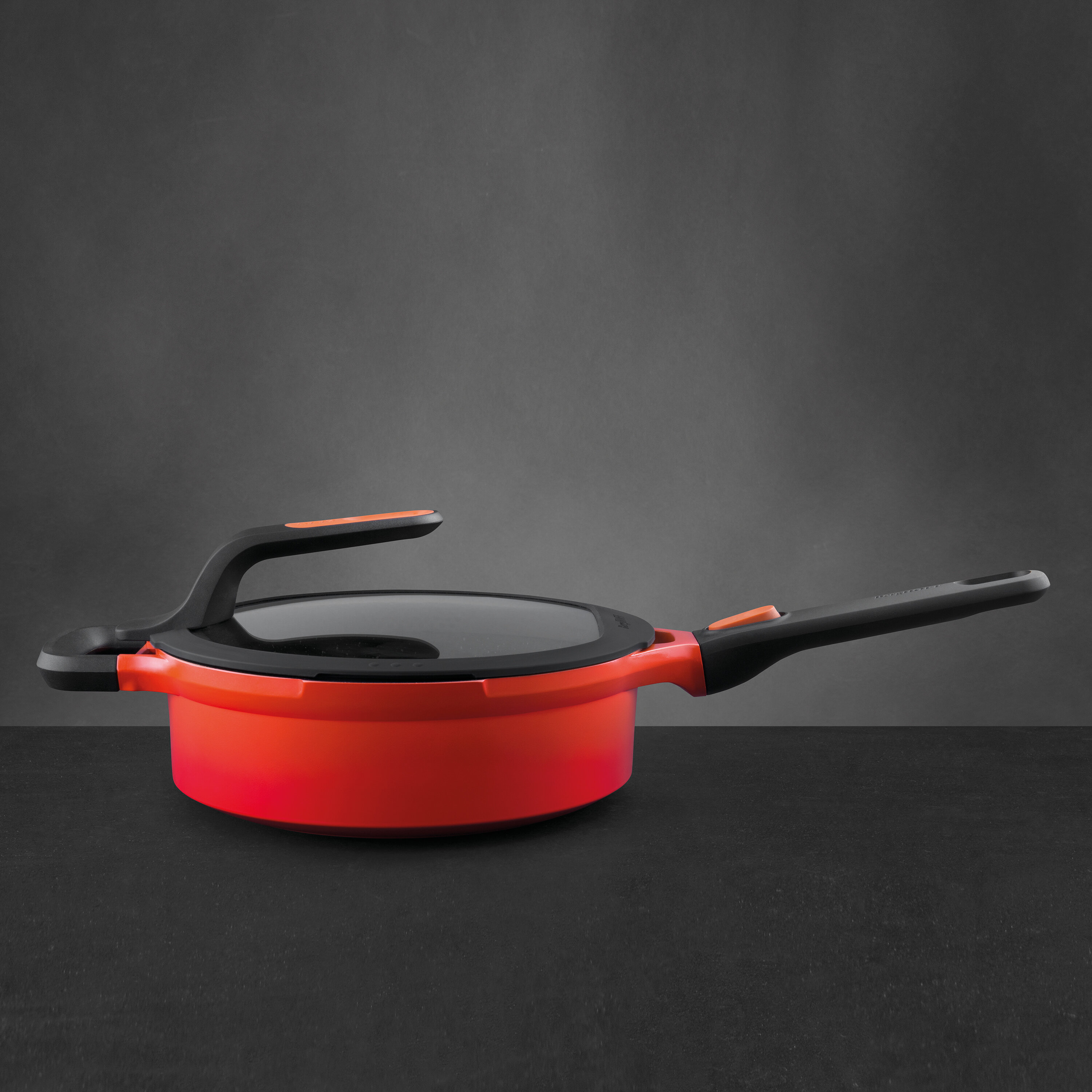 Berghoff International Gem Non Stick Covered Saute Pan With Lid