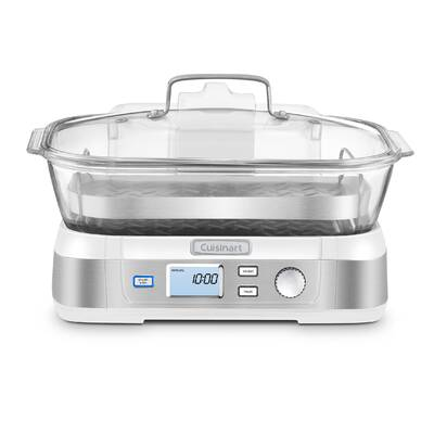 5 Quart CKSTSTMD5-W-015 Oster Double Tiered Food Steamer White