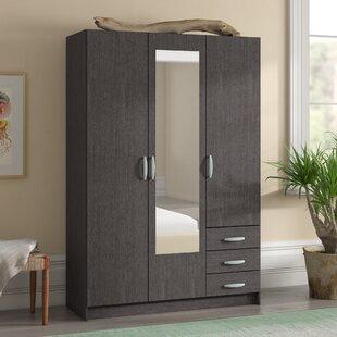 Cormick 3 Door Wardrobe By 17 Stories