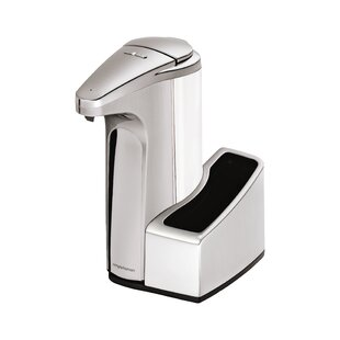 13 oz. Sensor Soap Pump with Caddy, Brushed Nickel