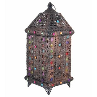 World Menagerie Opulent Antique Metal Lantern