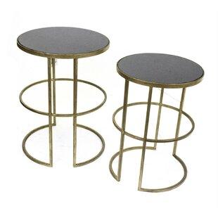 Devonshire Classic Metal 2 PieceNesting Tables