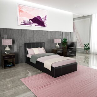 Windemere Upholstered Ottoman Bed By Metro Lane