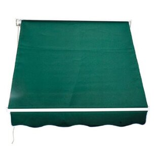 Outsunny Outsunny 4 ft. W x 4 ft. D Retractable Window Awning