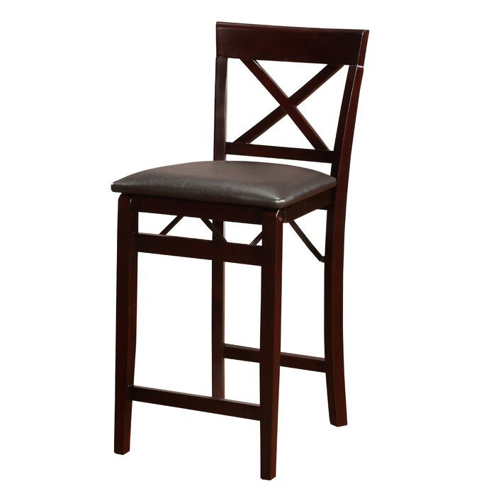 Incredible Khanna Wooden Folding Bar Counter Stool Spiritservingveterans Wood Chair Design Ideas Spiritservingveteransorg