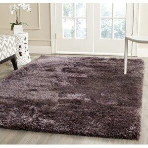 Martha Stewart Shag Lavender Area Rug