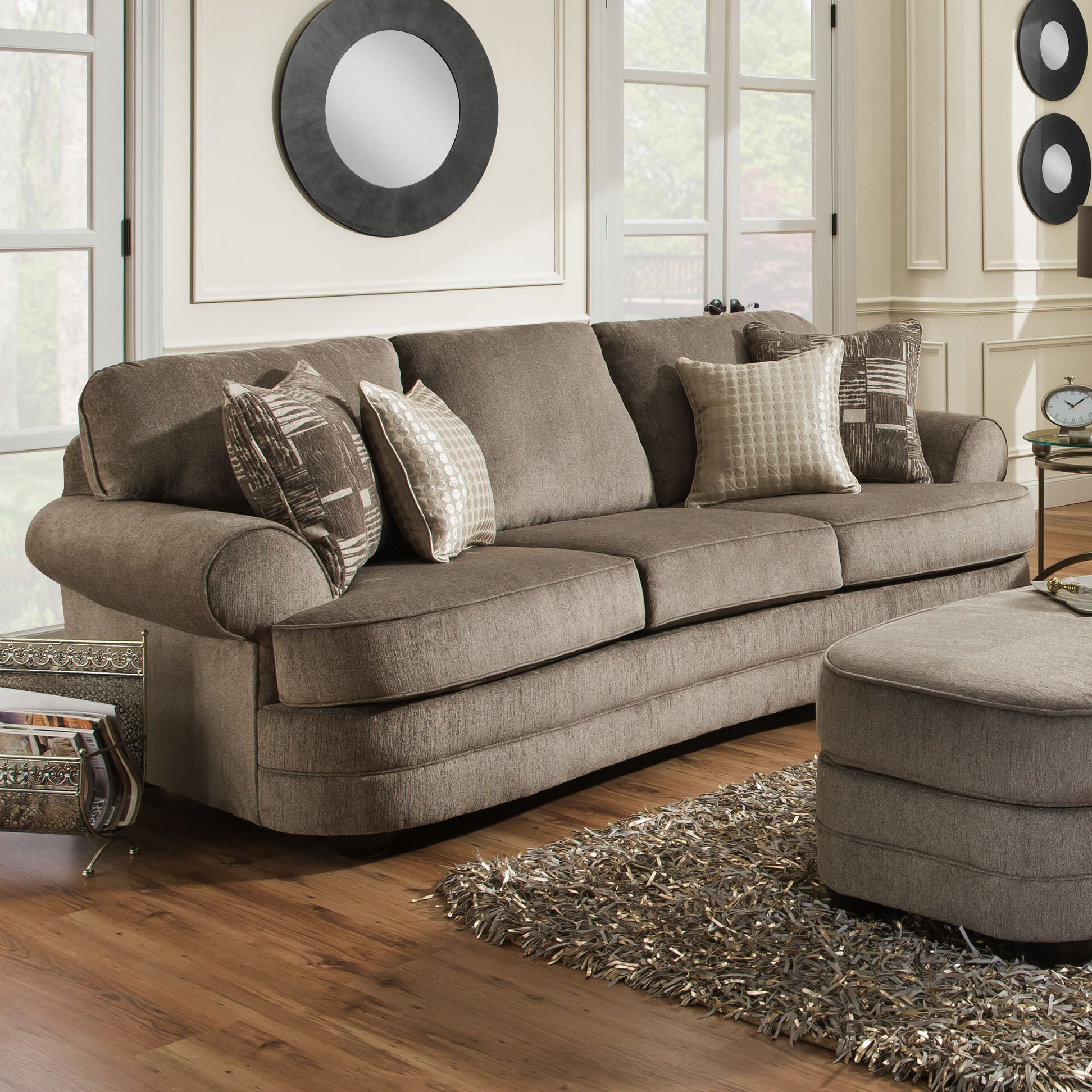 Simmons Living Room Furniture.  Simmons Upholstery Ashendon Sofa Reviews Birch Lane
