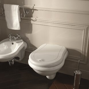 WS Bath Collections Retro Dual Flush Elon..