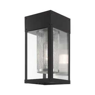 Wrought Studio Juniata Outdoor Wall Lantern