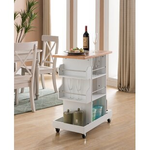 Kempton Storage Kitchen Cart Winston Porter