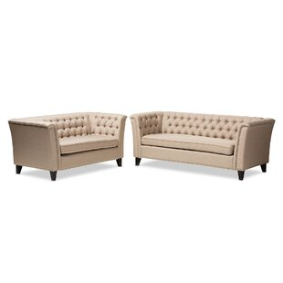 Compare prices Stony Point 2 Piece Living Room Set by Alcott Hill Reviews (2019) & Buyer's Guide