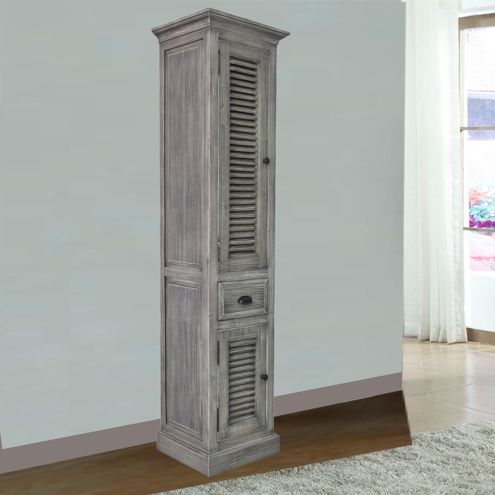 Rosecliff Heights Connolly 19 6 W X 79 H Linen Cabinet