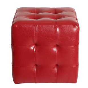 Veilleux Square Tufted Ottoman