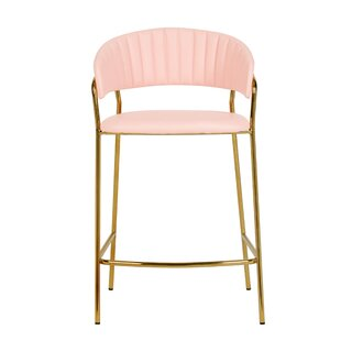 Avera 26 Bar Stool (Set of 2) by Everly Quinn