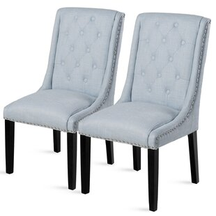 Affordable Price Robbe Upholstered Dining Chair (Set of 2) by Darby Home Co Reviews (2019) & Buyer's Guide