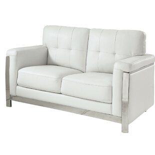 Best Choices Tomball Contemporary Standard Loveseat by Orren Ellis Reviews (2019) & Buyer's Guide