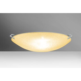 Compare Sonya 3-Light Outdoor Flush Mount By Besa Lighting