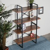 Bollingt 56.7 H x 35.4 W Etagere Bookcase by 17 Stories