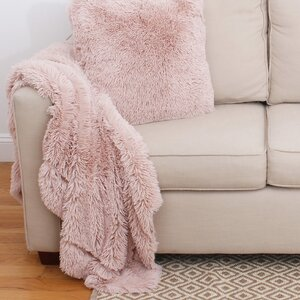 Alvarado Faux Fur Throw