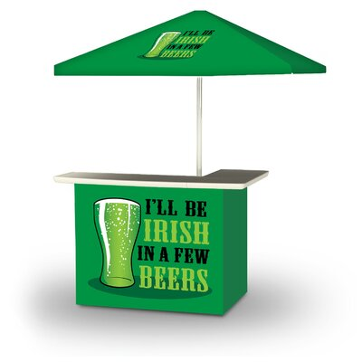 Xavie St Patricks Day Irish Beers 2-Piece Home Bar Set by East Urban Home 2020 Coupon