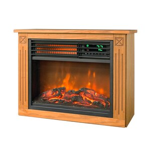 Cantillo Room Infrared Electric Fireplace by Winston Porter