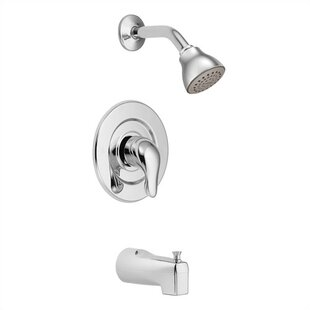Moen Chateau Tub and Shower Faucet Trim with Lever Handle