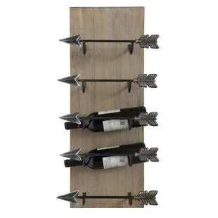 Louie 5 Bottle Wall Mounted Wine Rack by ..