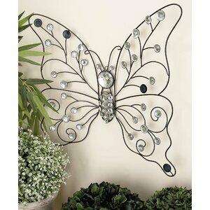 Metal Butterfly Wall Du00e9cor