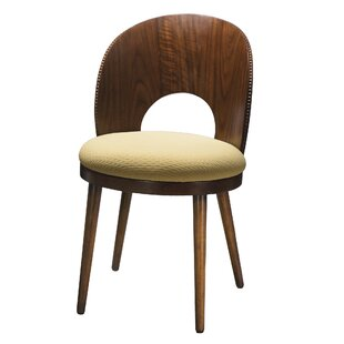 Kelemen Solid Wood Dining Chair by Bayou Breeze Great price