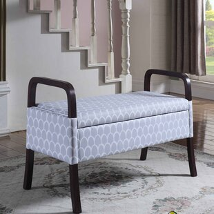 Latitude Run Cannon Upholstered Storage B..