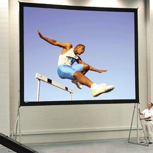 Affordable Fast Fold Deluxe Portable Projection Screen By Da-Lite