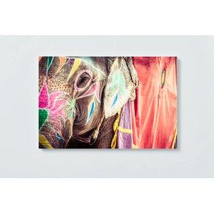 Elephant Motif Magnetic Wall Mounted Cork Board By Ebern Designs