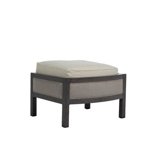 Barcelona Outdoor Ottoman with Cushion by Summer Classics