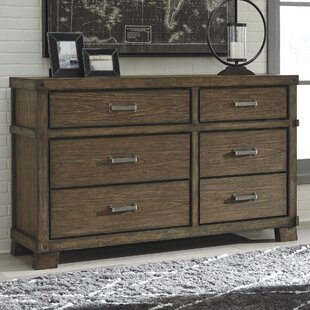 Loon Peak Belen 6 Drawer Double Dresser