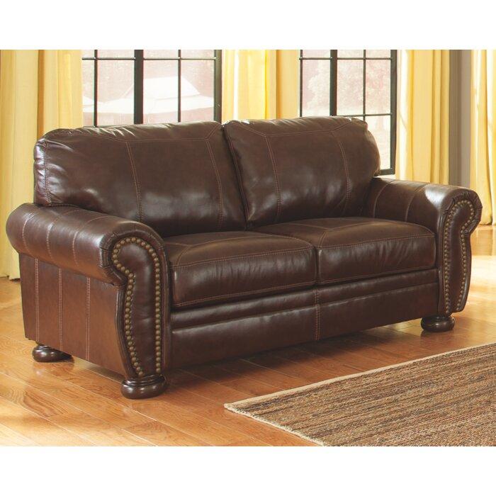 Ryan Espresso Leather Sofa