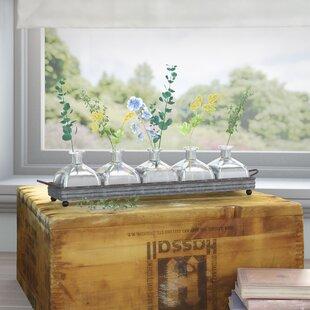 Wadlington Rustic 5 Piece Table Vase Set