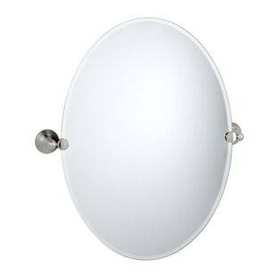 Deals Charlotte Oval Wall Mirror By Gatco