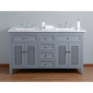 Richards 60 Double Bathroom Vanity Set