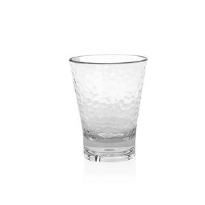 Louanne 12 Oz. Hammered Rocks Glass (Set of 4)