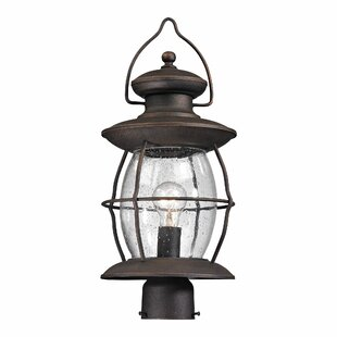 Comparison Crick 1 Light Outdoor Post Lantern By Breakwater Bay