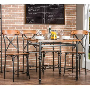 Compare prices Cornwall 5 Piece Pub Set By Fleur De Lis Living