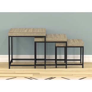 Top Adelbert 3 Piece Nesting Tables By Williston Forge