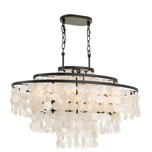 Highland Dunes Gaiser 6-Light Crystal Chandelier