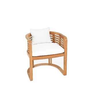 Hamilton Teak Patio Dining Chair with Cushion