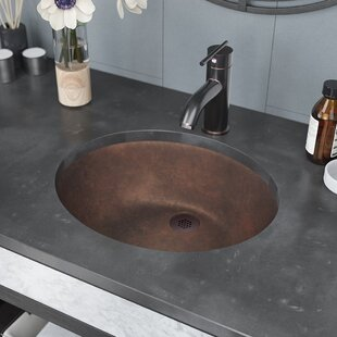 René By Elkay Single Bowl Metal Circular Vessel Bathroom Sink