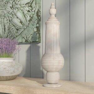 Deuxville Ceramic Decorative Urn with Lid