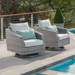 Greenfield Patio Chair with Cushion (Set of 2)