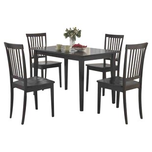 Read Reviews Holcomb 5 Piece Dining Set By Red Barrel Studio